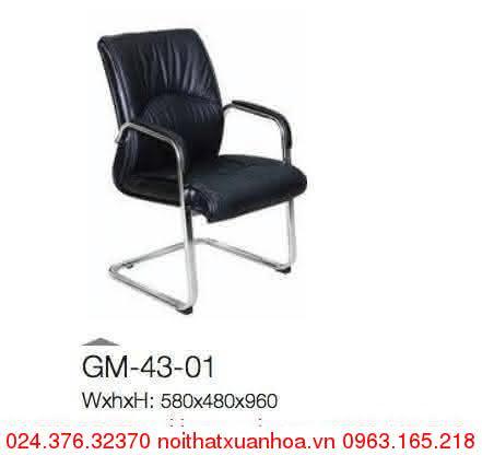 Hình ảnh sản phẩm Ghế phòng họp Xuân Hoà GM-43-01 chân quỳ