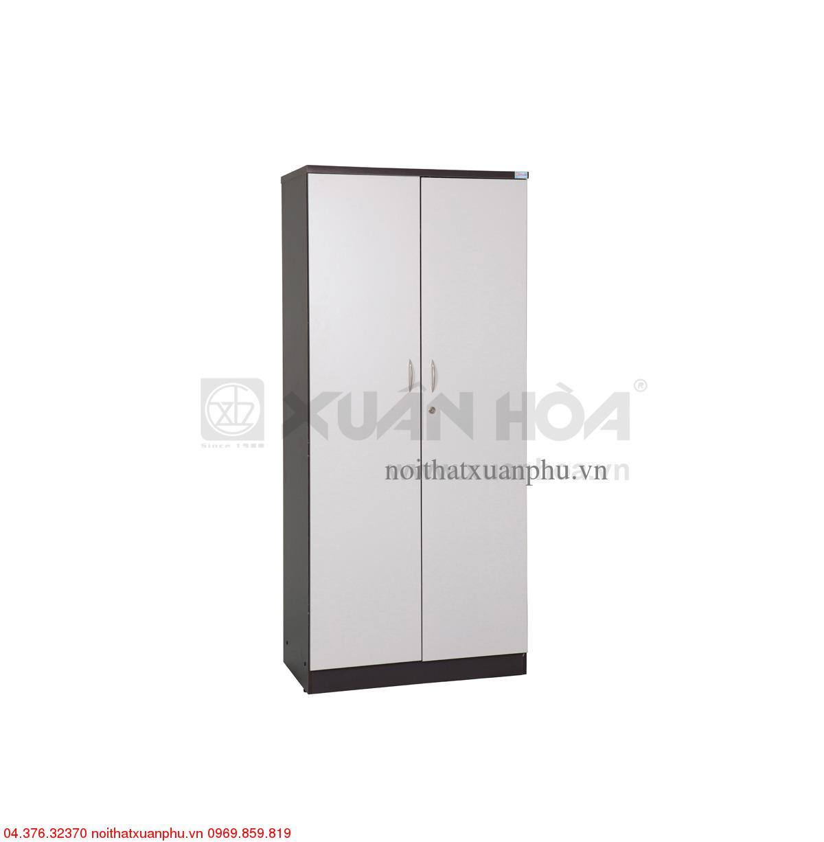 Hình ảnh sản phẩm Tủ gỗ văn phòng Xuân Hòa TG-10-00 80 x 42 x 184 cm