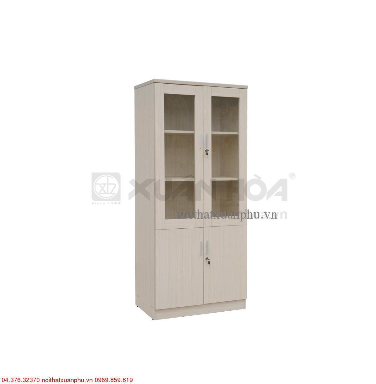 Hình ảnh sản phẩm Tủ gỗ văn phòng Xuân Hòa TG-14-00 80 x 40 x 183 cm