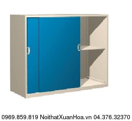 Hình ảnh sản phẩm CA-1B-S tủ sắt 2 cánh lùa Xuân Hòa