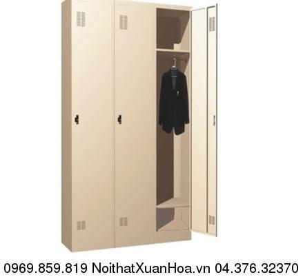 Hình ảnh sản phẩm Tủ sắt văn phòng locker LK-1N-03 Xuân Hòa
