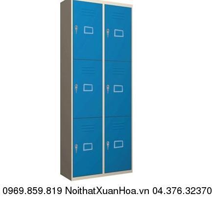 Hình ảnh sản phẩm Tủ sắt locker LK-6N-02 Xuân Hoà