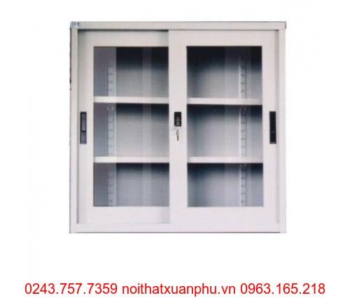 Hình ảnh sản phẩm Tủ sắt cánh kính CAT118G