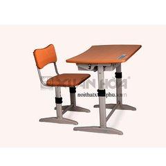 Bộ bàn ghế học sinh Xuân Hòa BHS-14-06 80 x 50 x 59-68 cm