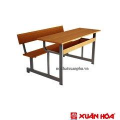 Bàn học sinh liền ghế Xuân Hòa BHS-16-00 110 x 85,6 x 86 cm
