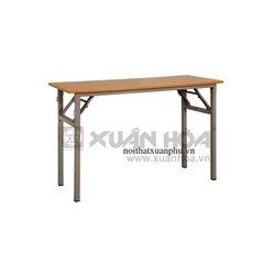 Bàn gấp chân sắt Xuân Hòa BOV-1205 120 x 50 x 75 cm