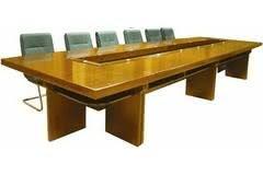 Bàn phòng họp cỡ lớn gỗ MDF cao cấp BH-02-00