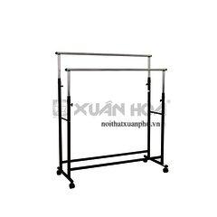 Giá treo quần áo tiện ích Xuân Hòa ZA-08-01 135,5 x 50 x 124-160 cm