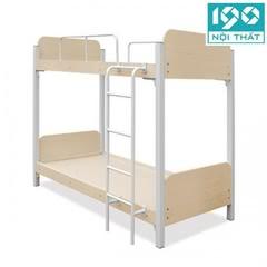 Giường gỗ khung sắt JS-2T-G