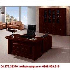 FM-1628#P bộ bàn giám đốc nội thất fami,gỗ công nghiệp phủ sơn PU