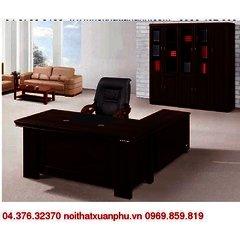 FM-1802#P bộ bàn giám đốc nội thất fami,gỗ công nghiệp phủ sơn PU