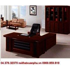 FM-1803#P16 bộ bàn giám đốc nội thất fami,gỗ công nghiệp phủ sơn PU