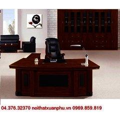 FM-2802#P bộ bàn giám đốc nội thất fami,gỗ công nghiệp phủ sơn PU