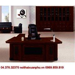 FM-3202#P bộ bàn giám đốc nội thất fami,gỗ công nghiệp phủ sơn PU