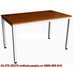 TT1207-MEL18F-AP bàn làm việc chân sắt, mặt gỗ nội thất fami