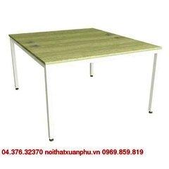TTE1214 bàn làm việc chân sắt,mặt gỗ melamine nội thất fami