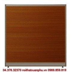 V60KT vách ngăn nội thất fami khung nhôm ốp gỗ