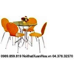 BCM-10 bàn ăn kính Xuân Hòa