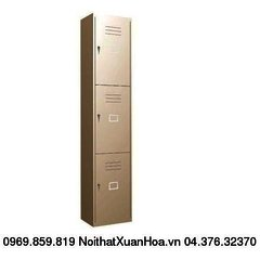 Tủ sắt locker LK-3N-01 Xuân Hoà