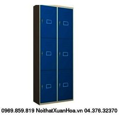 Tủ sắt locker LK-6N-02 Xuân Hoà