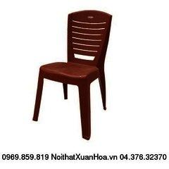 ghế tựa đại đức 2155 công ty nhựa Song Long mầu cafe